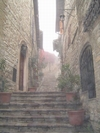 Assisi in the Fog