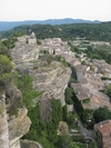 Saignon from the top